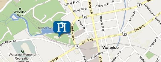 Perimeter Institute Location on Map