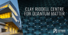 Clay Riddell Centre for Quantum Matter